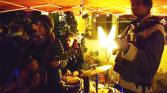 Band im Aufbau + M. Schumann | Videostill - fotoist.de | Nov 2015 Halle